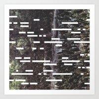 Undergrowth Art Print