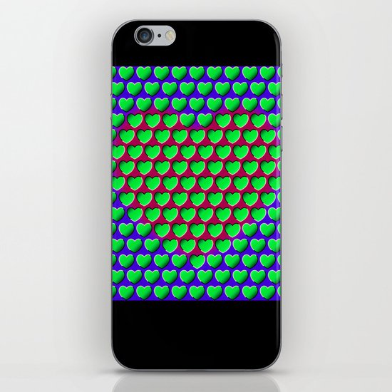 E-MOTION: Moving hearts iPhone & iPod Skin