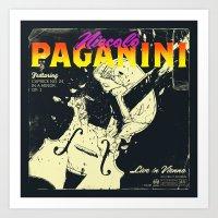 Paganini Art Print