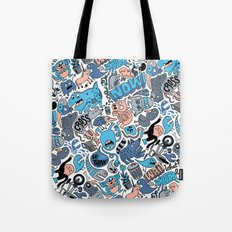 Gross Pattern Tote Bag
