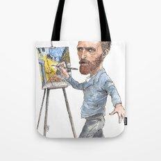 Van Gogh Paints Night Cafe Tote Bag