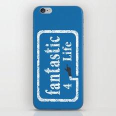Fantastic 4 Life iPhone & iPod Skin