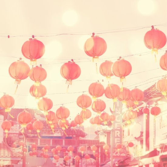 Chinatown. Los Angeles photograph Art Print