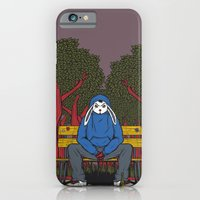 ALONE  IN THE PARK iPhone 6 Slim Case