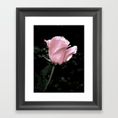 Faded Love Framed Art Print