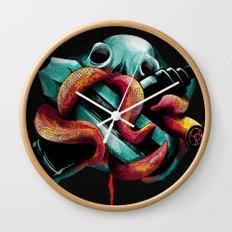 Diabolik Weapons Wall Clock