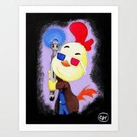 Who Dis Doctor 10 Art Print