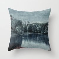 Memory is in blood Throw Pillow