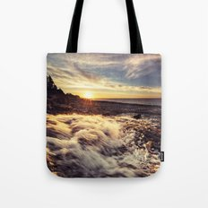 Streaming into the Sunset Tote Bag