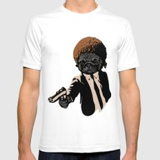 Pugly Mens Fitted Tee White SMALL
