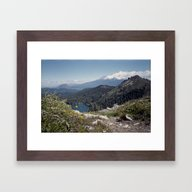 Mt Shasta Framed Art Print