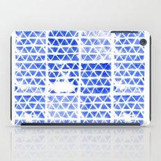 triangle stamp iPad Case