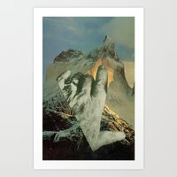 geography dwarfed by scope of events Art Print
