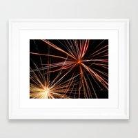Fireworks7 Framed Art Print