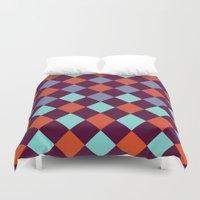 Geometric Pattern Duvet Cover