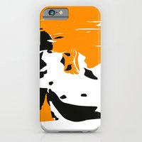iPhone Cases featuring Whimsical farm - Sammy by Little Dean