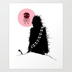 Chew-bot Art Print