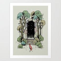 Forest Gate Art Print