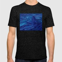 Pride Rock Mens Fitted Tee Tri-Black SMALL