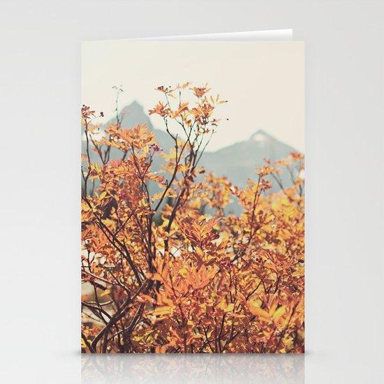Mountain Lodge Stationery Card