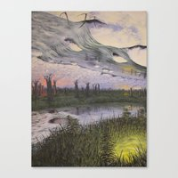 Reversible Landscape Canvas Print