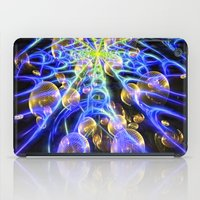 Bosons Traversing The Hi… iPad Case