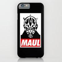 Obey Darth Maul (maul text version) - Star Wars iPhone 6 Slim Case