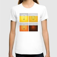 Golden Nectar Womens Fitted Tee White SMALL