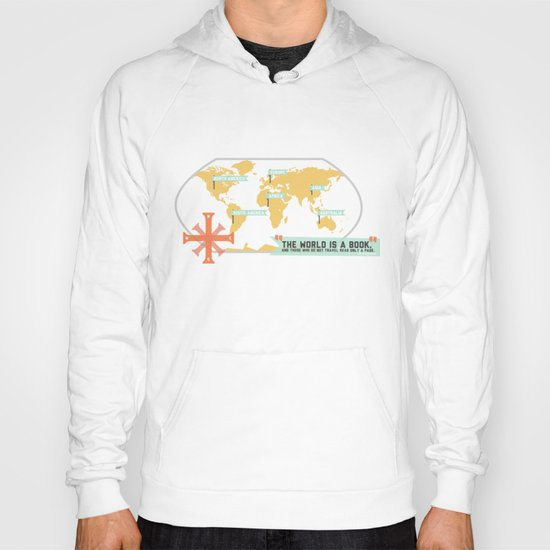 The World is a Book Hoody