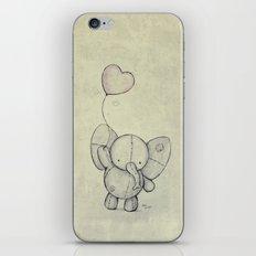 Cute Elephant II iPhone & iPod Skin
