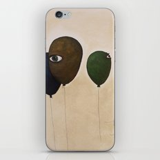 fly high wide eyes iPhone & iPod Skin