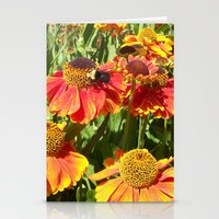 Sweet As A Bee And Daisi… Stationery Cards