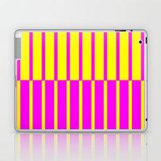 Canary Zebra Plays Piano Laptop & iPad Skin