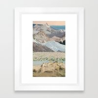Washes Framed Art Print
