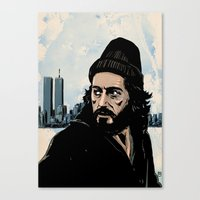 Serpico Canvas Print