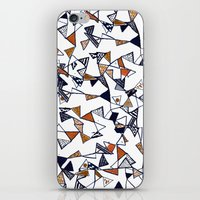 Triangles, Triangles, Tr… iPhone & iPod Skin