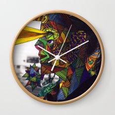 Psychoactive Bear 8 Wall Clock