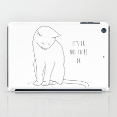 IT'S OK CAT iPad Case