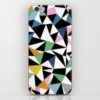 Abstraction Repeat #3 iPhone & iPod Skin