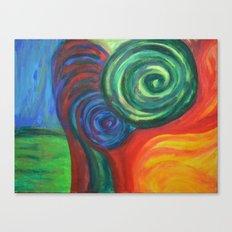 Three-dimensional. Canvas Print