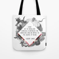 Act Of Rebellion Tote Bag