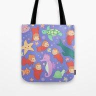 Ponyo's Sisters  Tote Bag