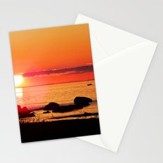 Sailing into the Night Stationery Cards