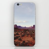 Monument Valley View iPhone & iPod Skin