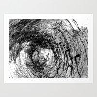Whirling dervishes / 2006  Art Print