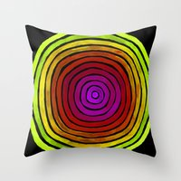 Degrees Throw Pillow