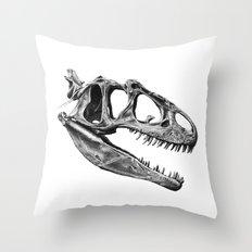 Allosaurus Throw Pillow