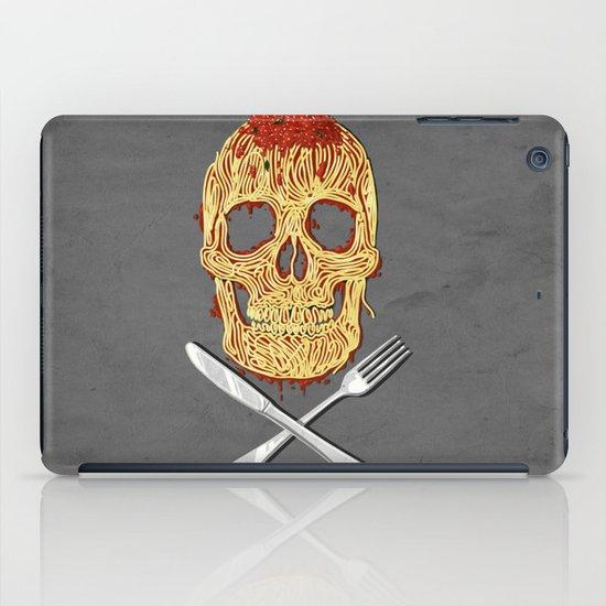 Spaghetti Skull iPad Case