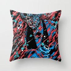Blood, Matter & Black Holes Throw Pillow
