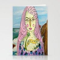 Love Deep Like The Sea Stationery Cards